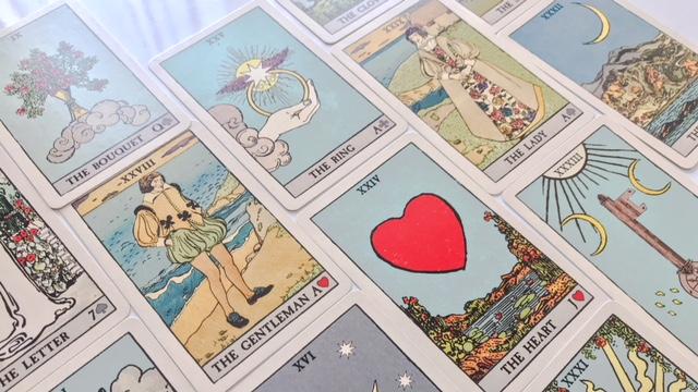 天使のルノルマンカードのイメージ